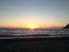Fliegen bis zum Sonnenuntergang