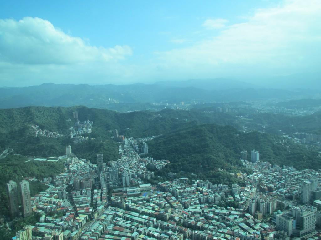 Aussicht über Taipei