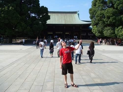 Logi in der Tempelanlage